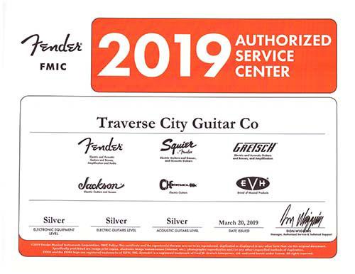 Traverse City Guitar Co: Fender Authorized Service Center